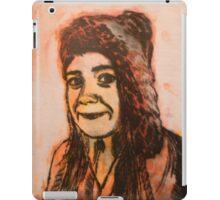 Girl print iPad Case/Skin