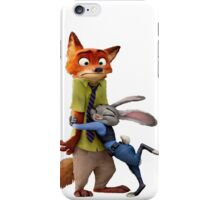 Nick and Judy Hug iPhone Case/Skin