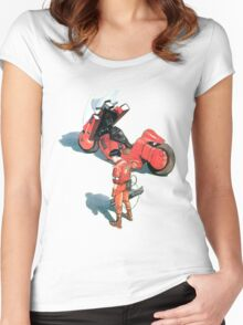 Kaneda Women's Fitted Scoop T-Shirt