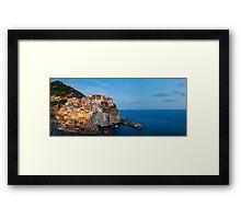 Manarola, Cinque Terre (Italy) Framed Print