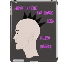 Punk is Here to Stay iPad Case/Skin