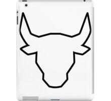 polygonal bull iPad Case/Skin