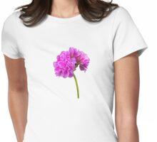Geranium portrait Womens Fitted T-Shirt