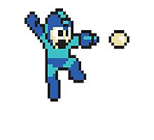 retro megaman Photographic Print