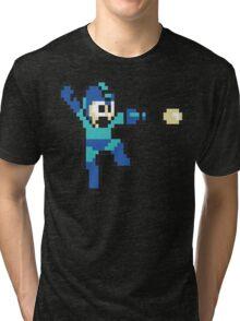 retro megaman Tri-blend T-Shirt