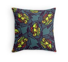 Urban city Throw Pillow