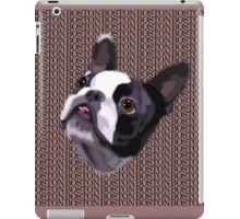 Boston Terrier - GOOOOO BOSTON iPad Case/Skin