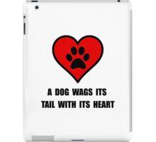 Dog Wag Heart iPad Case/Skin