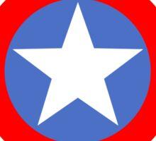 Civil War - Team Cap  Sticker