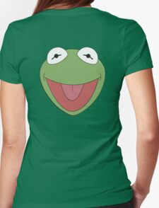 Kermit The Frog Womens Fitted T-Shirt