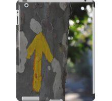 Arrows guide the way on the Camino de Santiago iPad Case/Skin