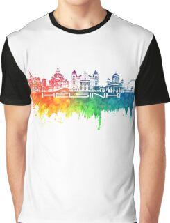 Helsinki skyline color Graphic T-Shirt