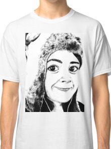 Girl portrait Classic T-Shirt