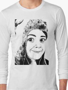 Girl portrait Long Sleeve T-Shirt