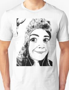 Girl portrait Unisex T-Shirt