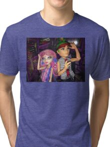 Monster High+Deuce+Viperine Tri-blend T-Shirt