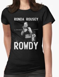 Ronda Rousey Signature [FIGHT CAMP] Womens Fitted T-Shirt