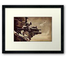 Gunshot Framed Print