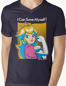 Save Myself Mens V-Neck T-Shirt