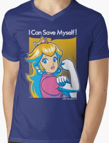 Save Myself Mens V-Neck T-Shirt