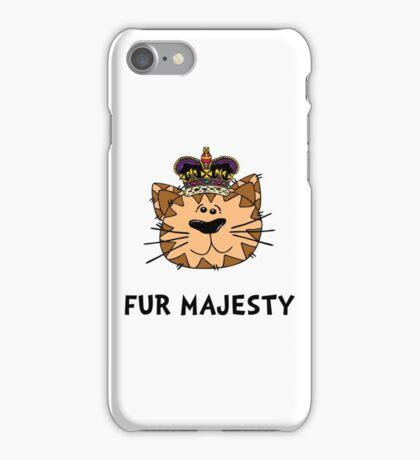 Fur Majesty iPhone Case/Skin