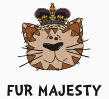 Fur Majesty One Piece - Short Sleeve