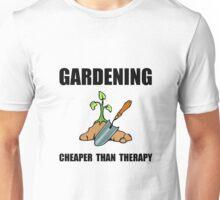 Gardening Therapy Unisex T-Shirt