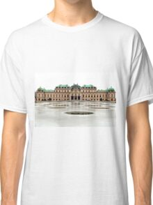The Belvedere Palace in Vienna Classic T-Shirt