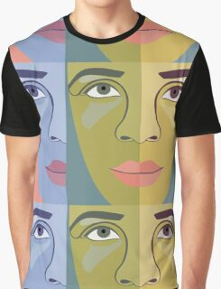 FACES #9 Graphic T-Shirt