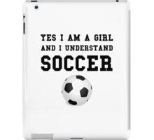 Girl Soccer iPad Case/Skin