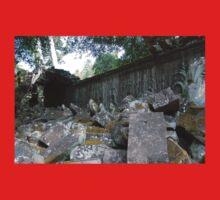 Fallen Building, Siem Reap, Cambodia Baby Tee