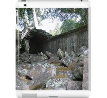 Fallen Building, Siem Reap, Cambodia iPad Case/Skin
