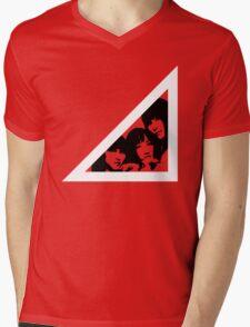 Triangle (Stencil Ver.) Mens V-Neck T-Shirt