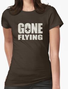 Gone Flying Womens Fitted T-Shirt
