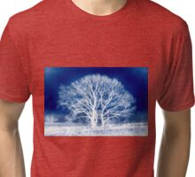 When the night is inky blue Tri-blend T-Shirt