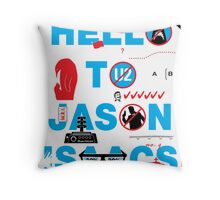 Wittertainment: 20 In-Jokes in one Graphic Throw Pillow