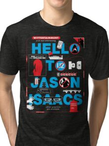 Wittertainment: 20 In-Jokes in one Graphic Tri-blend T-Shirt
