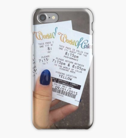 World of colour iPhone Case/Skin