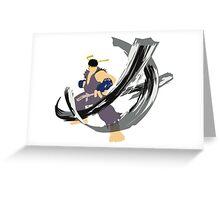 Ryu Alt 2 Greeting Card