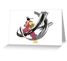 Ryu Alt 3 Greeting Card
