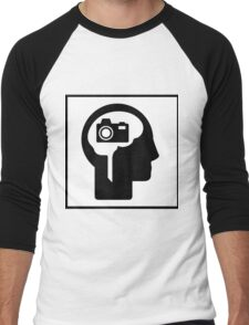 Photographer Dream Men's Baseball ¾ T-Shirt