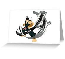 Ryu Alt 4 Greeting Card