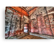 The old factory Metal Print