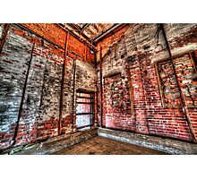 The old factory Photographic Print