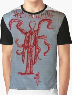 Slenderman Page Graphic T-Shirt