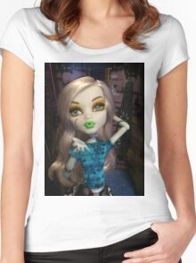 Monster High  Women's Fitted Scoop T-Shirt
