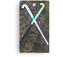 Field hockey  Canvas Print