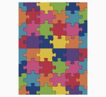 autism puzzle One Piece - Short Sleeve