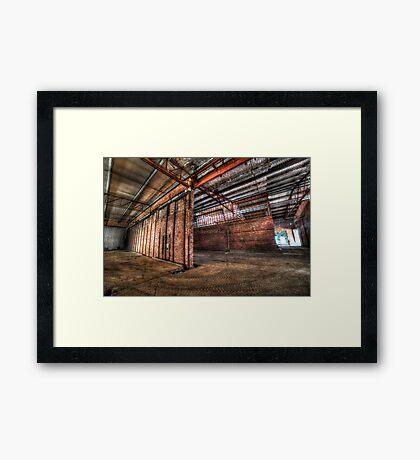 Factory complex Framed Print