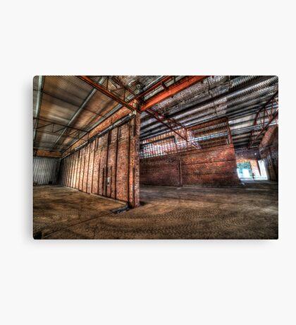 Factory complex Canvas Print